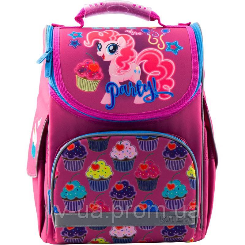 Рюкзак школьный каркасный ортопедический Kite Education My Little Pony LP19-501S-1, для девочек, розовый (LP19-501S-2)