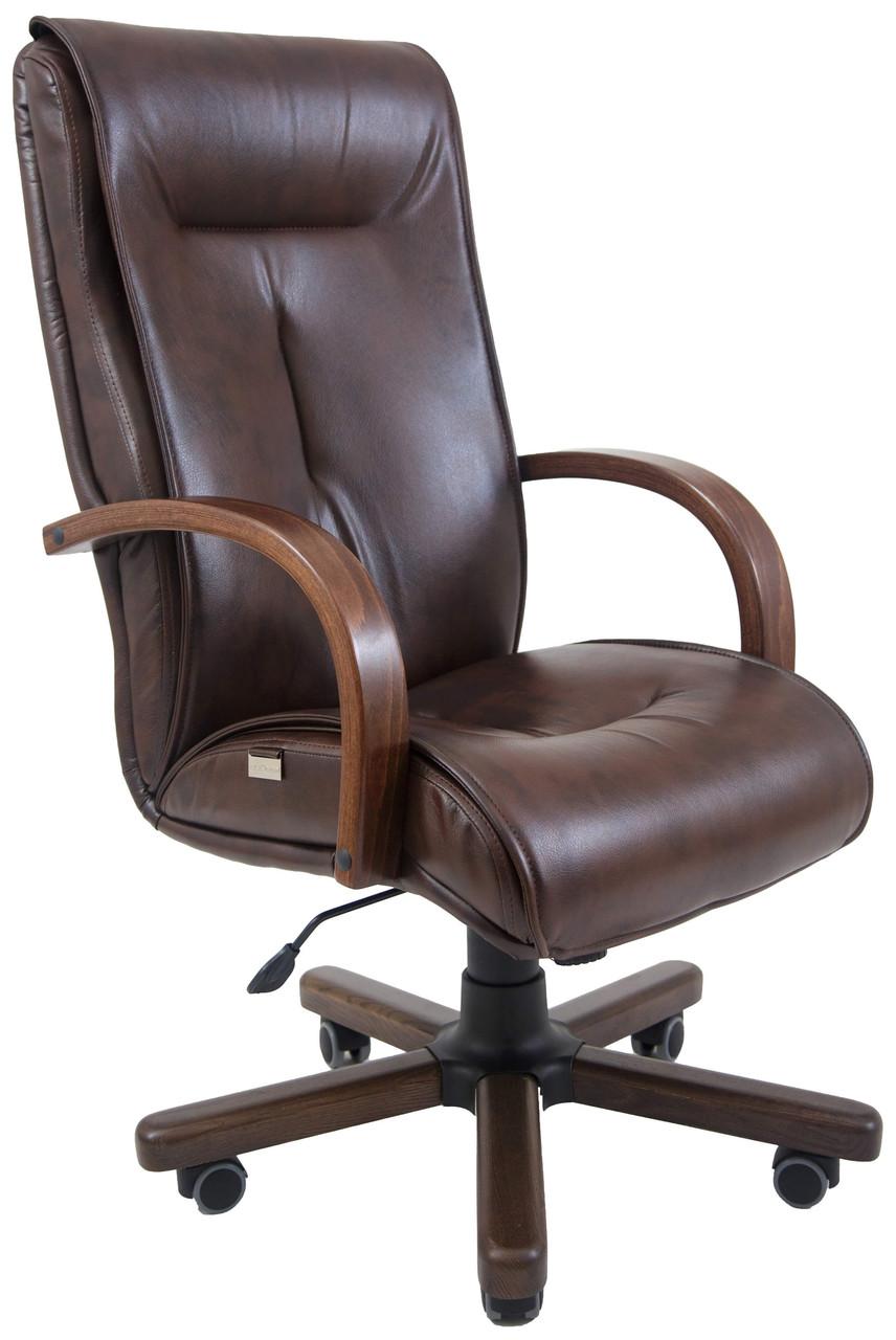 Кресло компьютерное Бостон (Вуд) (с доставкой)