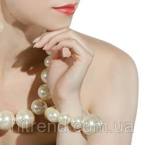 Браслет из крупного белого жемчуга Lambre - 142238