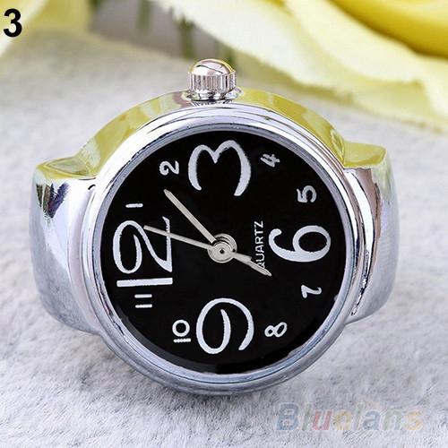 Оригинальные перстень часы для девушки