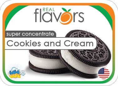 Ароматизатор Real Flavors Cookies and cream (Печиво і крем)