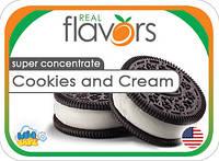 Ароматизатор Real Flavors Cookies and cream (Печенье и крем)