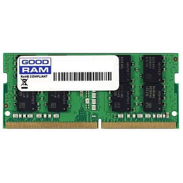 Память GOODRAM SODIMM DDR4-2666 4096MB PC4-21300 (GR2666S464L19S/4G)