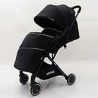 """Детская коляска """"YUYO"""" T3101F  Black Черная"""