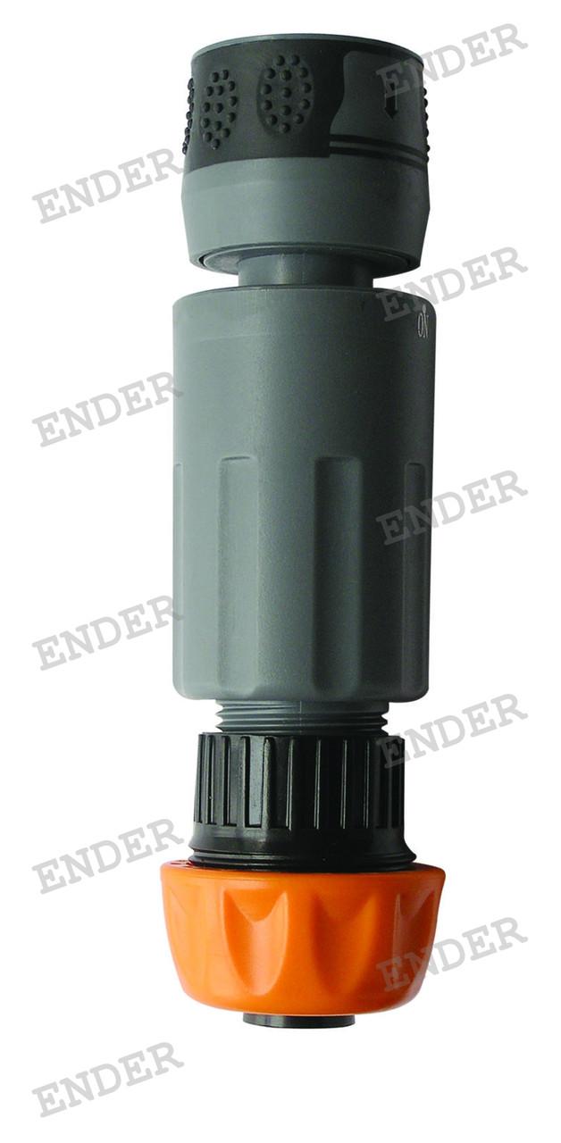 """Коннектор Gardenia  5/8"""" 3/4"""" с регулировочным клапаном"""