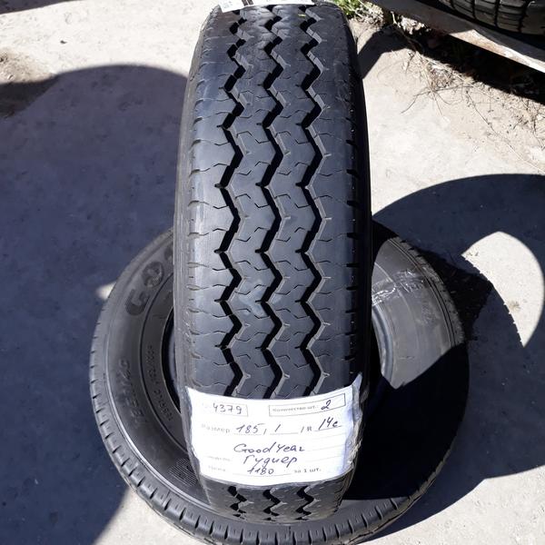 Бусовские шины б.у. / резина бу 185.r14с Goodyear Cargo G28 Гудиер