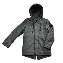 Куртка демисезонная цвета хаки для мальчика, DR