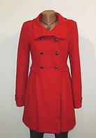 Роскошное Красное Шерстяное Пальто от H&M Размер: 42-S