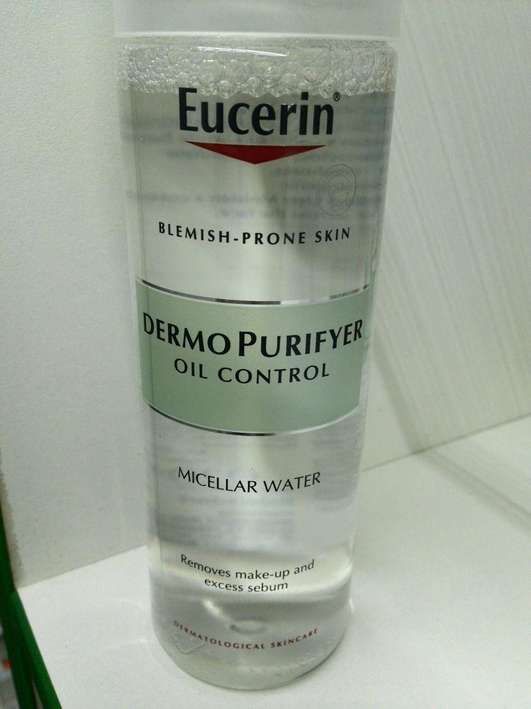 Мицеллярный раствор для проблемной кожи DermoPURIFYER Eucerin