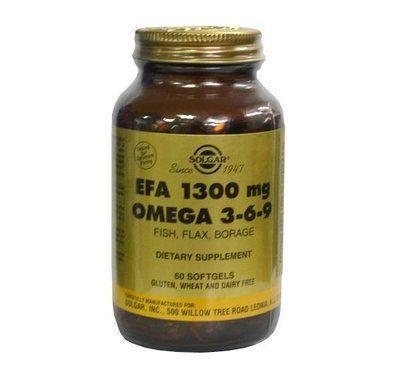 Омега-3-6-9 ЕЖК капсулы 1300мг N60