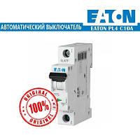 Автоматический выключатель Eaton PL4 10А 1Р
