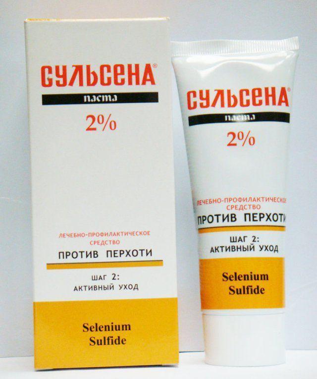 Сульсена Паста лечебно профилактическая против перхоти 2% Сульсена 75мл