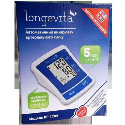 Тонометр автоматический Longevita BP-1209