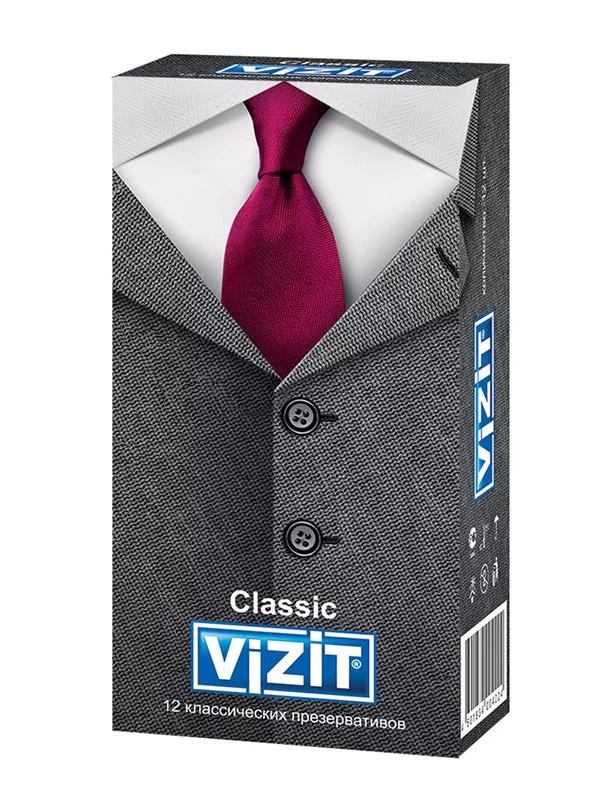 Презервативы классические (12 шт.) VIZIT