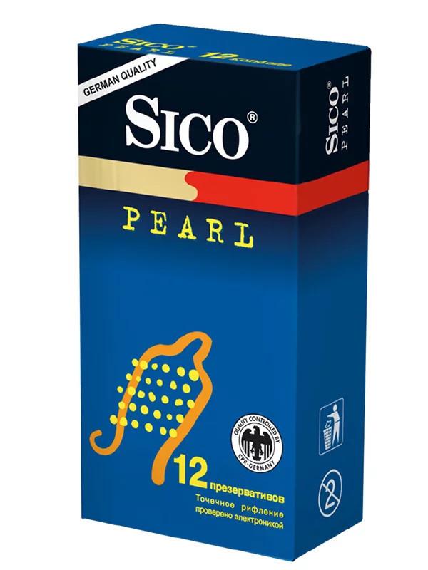 Sico Презервативы Pearl точечные (12 шт.)
