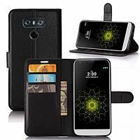 Чехол-книжка Litchie Wallet для LG G6 Черный