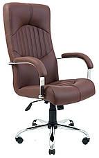 Кресло компьютерное Гермес (Хром) (с доставкой), фото 2