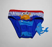 Детские плавки для мальчиков Teres 3101 Синий + голубой