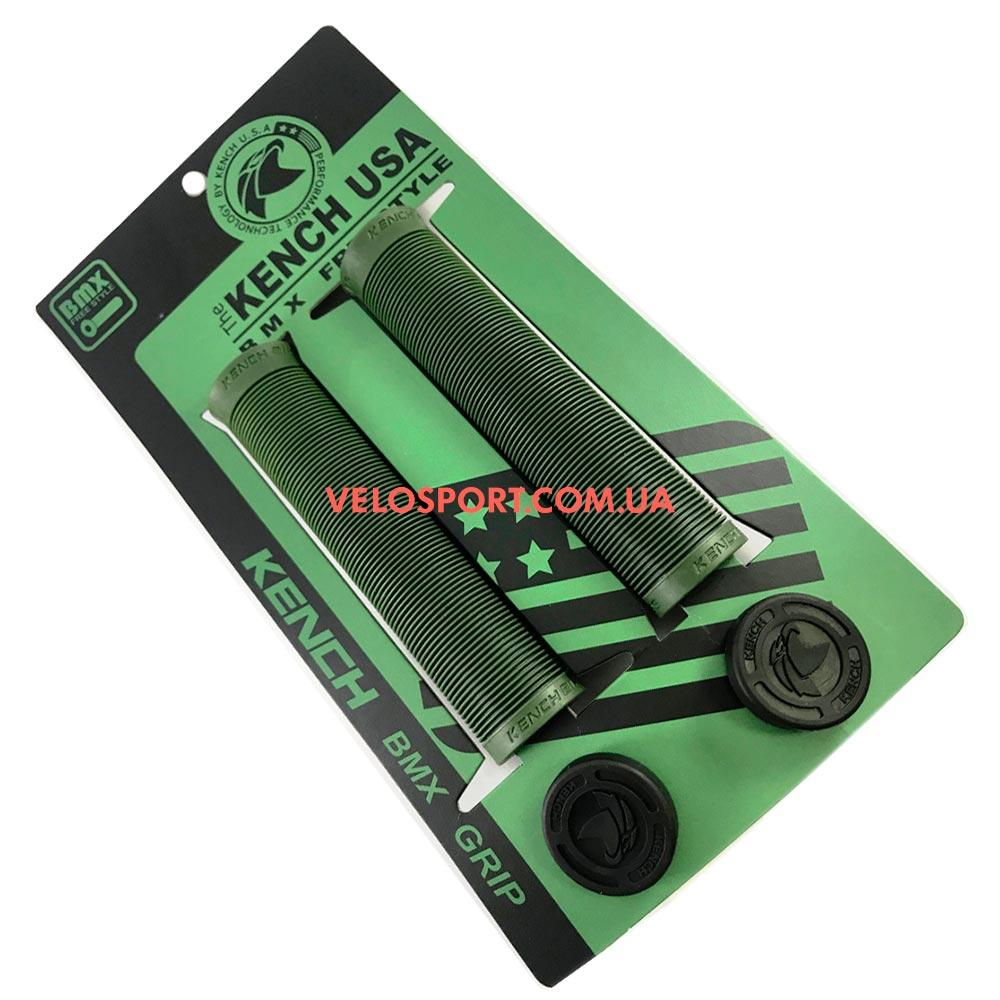 Грипсы для BMX Kench KH-GP-02 зеленые