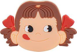 Попсокет Popsocket (Держатель для телефона) Unipha ART610 3D Девочка Коричневый (299493)