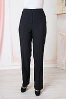 Штани класичні жіночі чорні Світлана 52-64 р-ри, фото 1