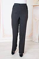 Штани класичні жіночі сірі Світлана 52-64 р-ри, фото 1