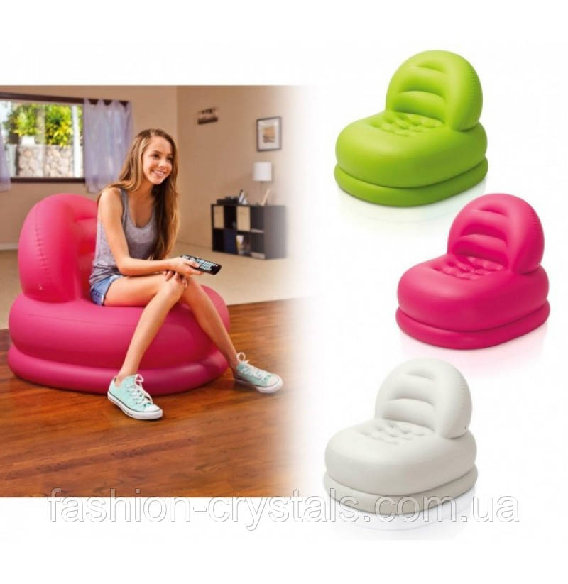 Надувное кресло Intex 68592 3 цвета