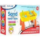 Столик-песочница для игр с песком и водой 2 в 1, фото 4