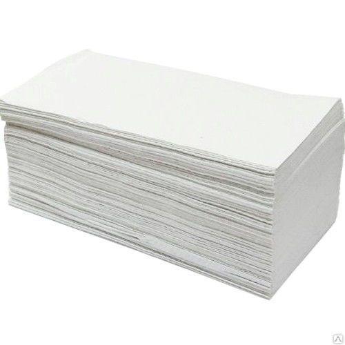 Полотенце бумажное, Standard, V-сложение, целлюлозное, 1-но сл., 200 л/уп.