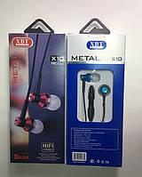 Наушники XBT X10 с микрофоном