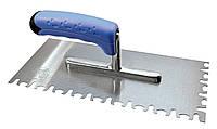Шпатель зубчатый металлический Литокол 911TG