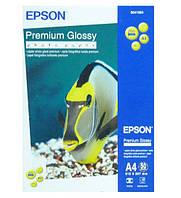 Фотобумага EPSON A4 Premium Glossy Photo Paper, 50л. C13S041624