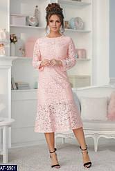 Гипюровое платье размер 42,44,46