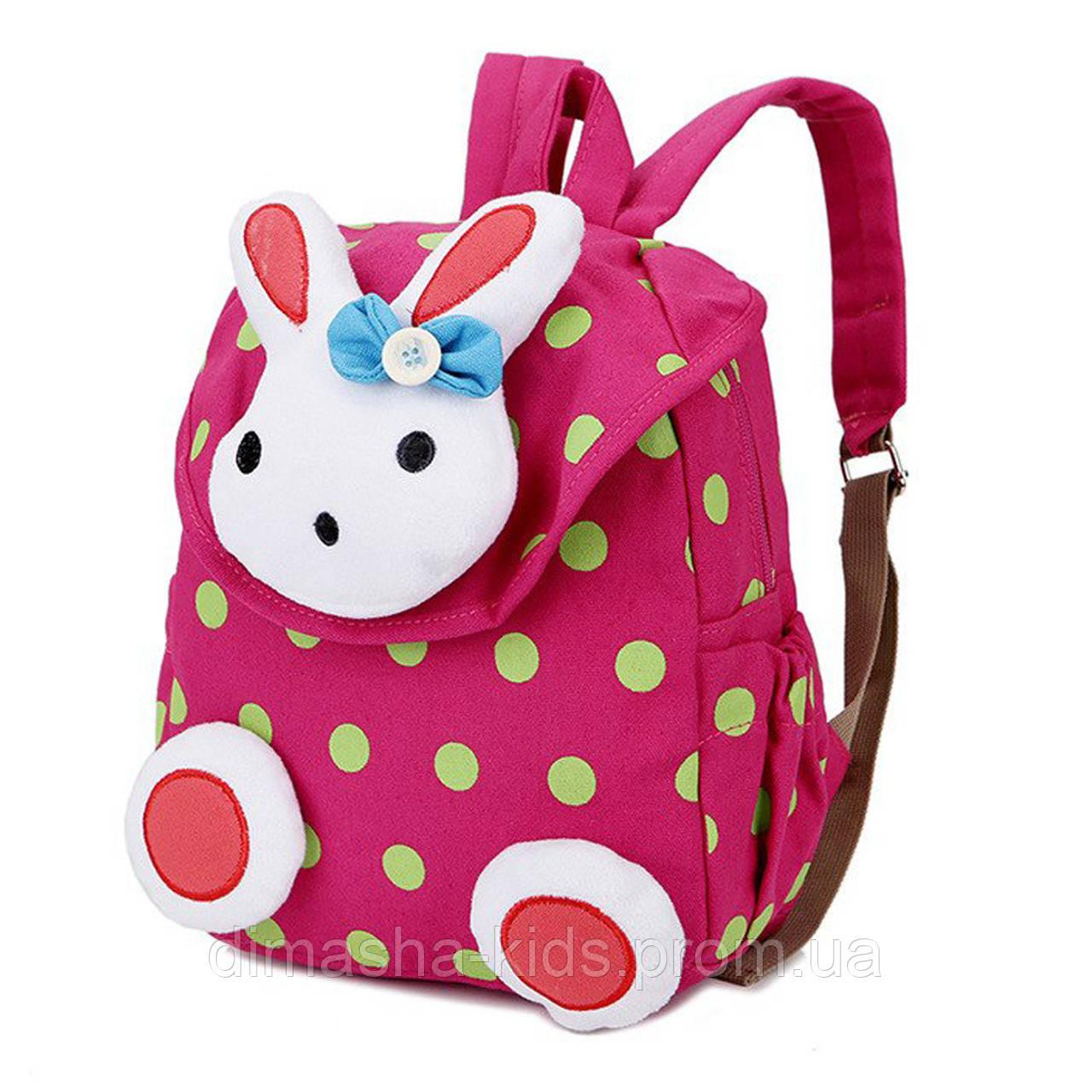 c3f8b5e03126 Рюкзак детский, малиновый. Зайка.: продажа, цена в Полтаве. сумки и ...