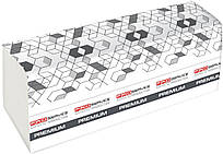 Полотенце бумажное, Premium, Z-сложение, целлюлозное, 2-х сл., 200 л/уп.