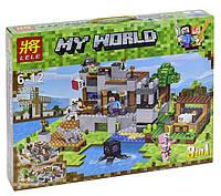 """Конструктор Lele 33191 Minecraft """"Береговая Цитадель"""" 517 деталей. Аналог Лего Майнкрафт, фото 1"""