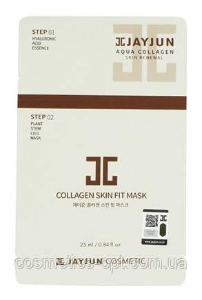 Двухэтапная маска с коллагеном Jayjun 2 Step Collagen Skin Fit Mask