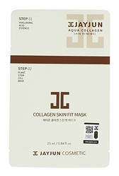 Двухэтапная маска с коллагеном Jayjun 2 Step Collagen Skin Fit Mask