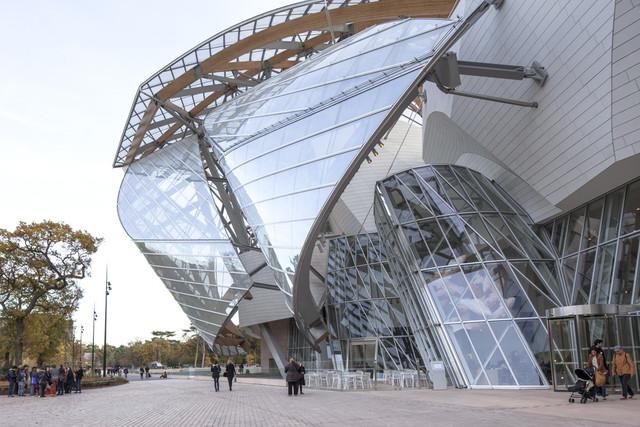 Фонд Louis Vuitton , Gehry Partners , Париж, Франция