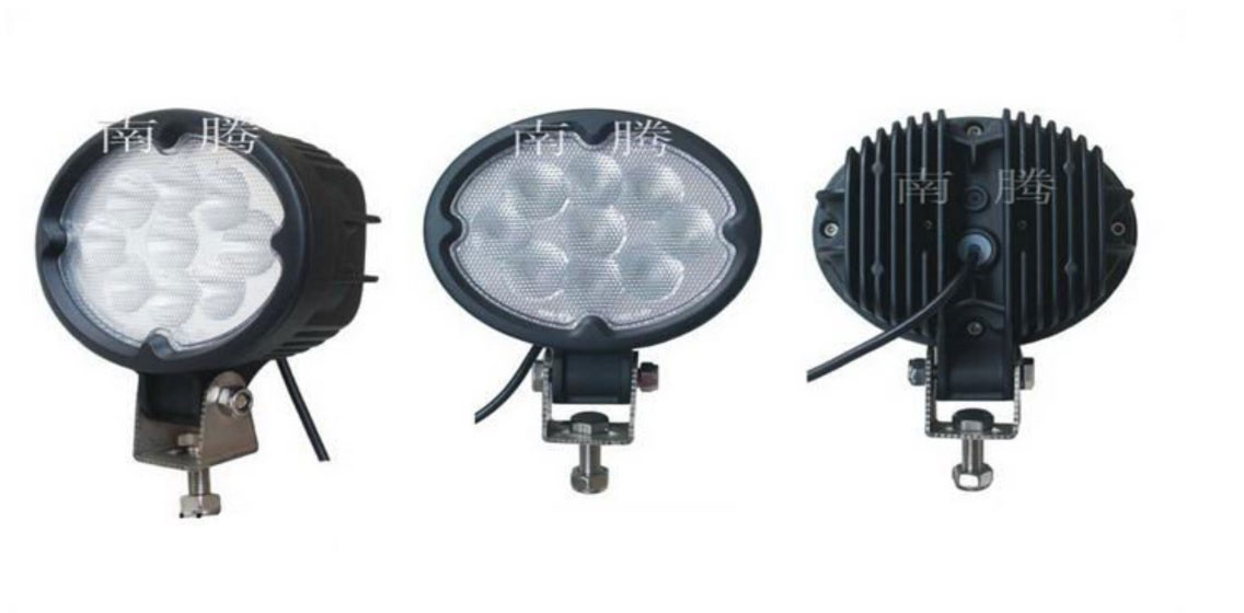 Дополнительные светодиодные фары дальнего света  16-27W