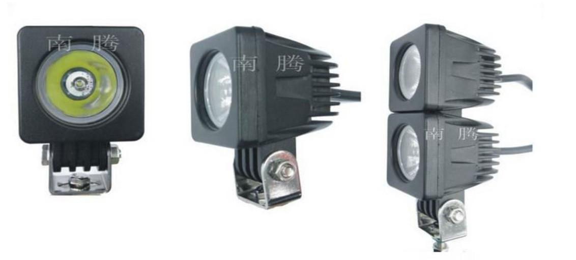 Дополнительные светодиодные фары дальнего света  25-10W