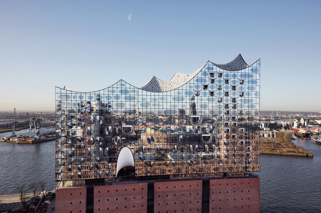 Elbphilharmonie от Herzog & de Meuron , Гамбург, Германия