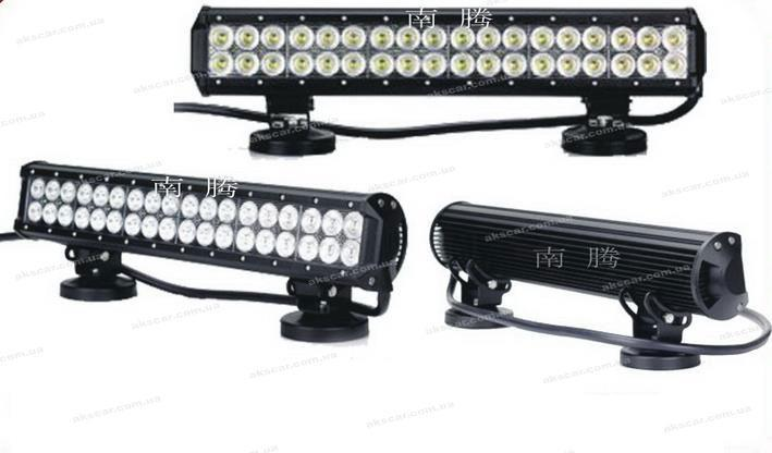 Дополнительные светодиодные фары ближнего и дальнего света  D-180W Combo