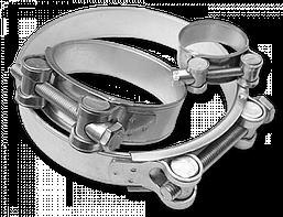 Хомут силовой одноболтовый RGBS W1 113-121/24 мм, RGBS117/ 24