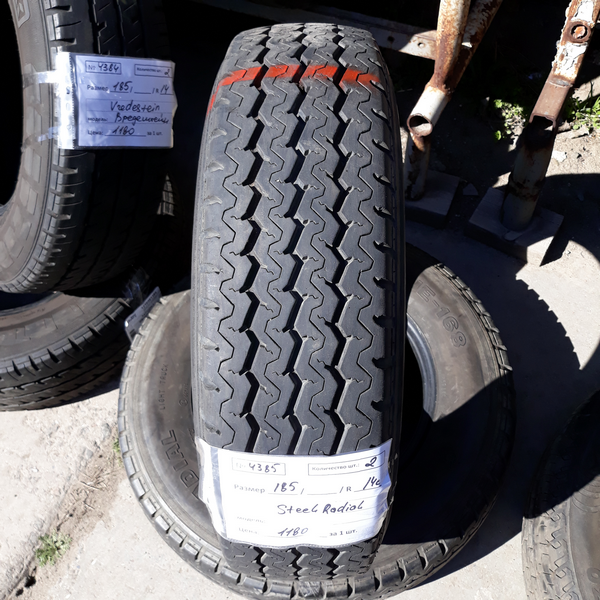 Бусовские шины б.у. / резина бу 185.r14с Steel Radial