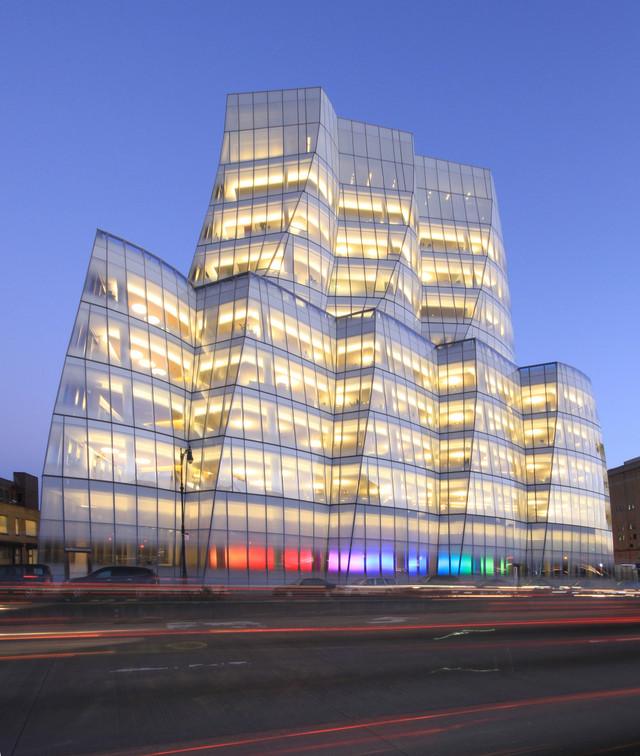 Здание IAC от Gehry Partners , Нью-Йорк, Нью-Йорк, США