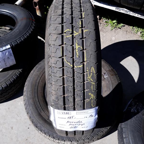 Бусовские шины б.у. / резина бу 185.75.r14с Matador Maxilla 2 Матадор