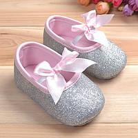 Нарядные туфельки-пинетки 13 см, 12 см., фото 1