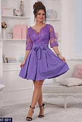 Вечернее платье дорогой гипюр с вышивкой размер 42,44,46,48