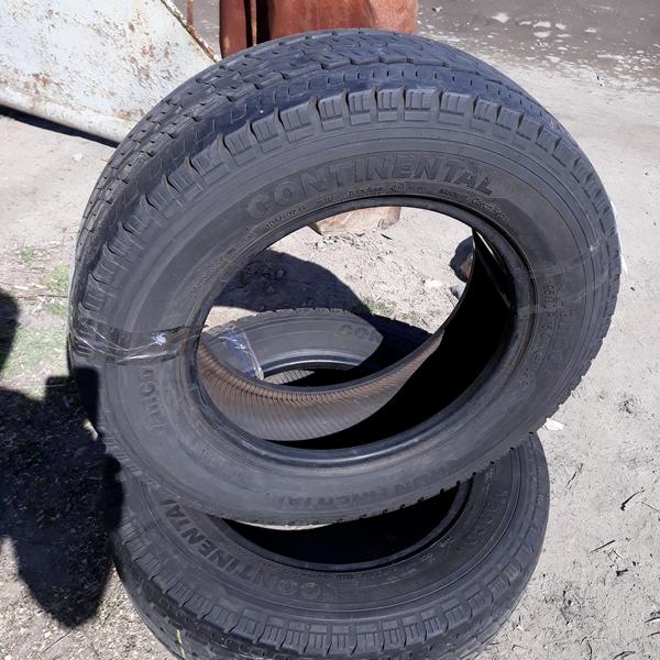 Бусовские шины б.у. / резина бу 195.70.r15с Continental Vanco 8 Континенталь